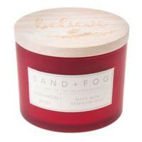 Cinnamon Noel Carved Lid 12 oz. Jar Candle
