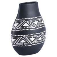 Zuo Modern Kolla Small Vase in Black/White