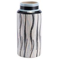 Zuo Modern Espiga Small Vase in White/Black