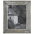 Rustic Impressions 8-Inch x 10-Inch Wood Frame in Aged Silver