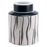 Zuo® Espiga Large Jar in Black/White