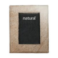 Natural Rugs 5-Inch x 7-Inch Durango Cowhide Picture Frame in Natural