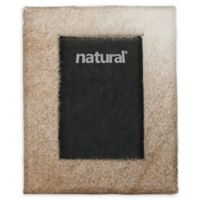 Natural Rugs 8-Inch x 10-Inch Durango Cowhide Picture Frame in Natural