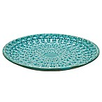Madison Park Iwan Ceramic Plate in Blue