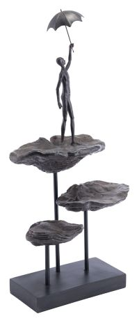 Zuo® Flying Figurine in Bronze