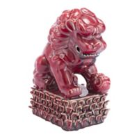 Zuo® Foo Dog Figurine in Red