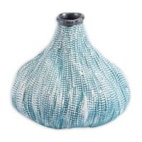 Zuo® Modern Silica Small Ceramic Vase in Teal