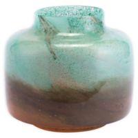Zuo® Joo Large Vase in Translucent Green and Orange