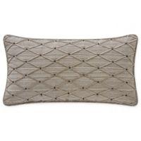 Waterford® Bainbridge Reversible Breakfast Throw Pillow in Linen