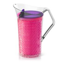 ASOBU 50 oz. Insulated Gel Pitcher in Pink