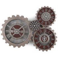 Sterling & Noble Gallery Gear 23.5-Inch Wall Clock