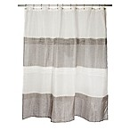 Famous Home® Trella Shower Curtain in Taupe/Grey