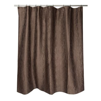 Famous HomeR Veruka Shower Curtain In Bronze