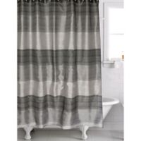 Famous Home® Alys Shower Curtain in Black/Grey