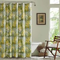 Tommy Bahama® Cuba Cabana Shower Curtain in Green