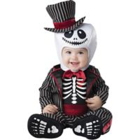 The Nightmare Before Christmas© Lil' Skeleton Size 12M-18M Halloween Costume