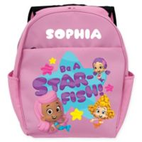 "Bubble Guppies™ ""Be A Star-Fish"" Toddler Backpack in Pink"
