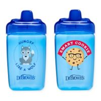 Dr. Brown's® Milestones™ 2-Pack 12 oz. Hard Spout Sippy Cups in Blue
