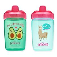 Dr. Brown's® Milestones™ 2-Pack 12 oz. Hard Spout Sippy Cups in Pink