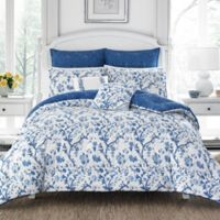 Laura Ashley® Elise China Full/Queen Duvet Cover Set