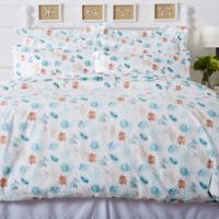 Great Bay Home® Key West Coastal Twin Duvet Cover Set in Blue