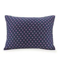 Vera Bradley® Sedona Medallion Standard Pillow Sham in Navy