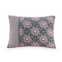 Vera Bradley® Floral Medallion Standard Pillow Sham in Navy