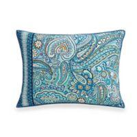Vera Bradley® Daisy Dot Paisley Standard Pillow Sham in Turquoise