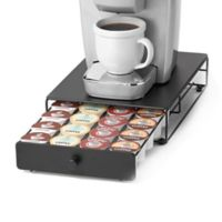 Nifty™ Rolling 24 K-Cup® Mini Drawer in Black