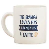 "Kate Aspen® ""This Grandpa Loves his Grandkids a Latte"" Mug"