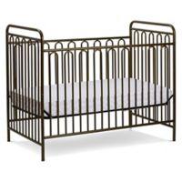 LA Baby® Trinity 3-in-1 Convertible Crib in Gold