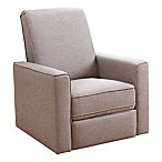 Abbyson Living® Emma Nursery Swivel Glider Recliner in Taupe