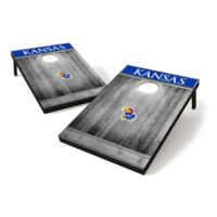 University of Kansas Tailgate Toss Cornhole Set