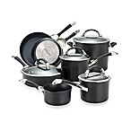 Circulon® Symmetry™ Black 11-Piece Cookware Set and Open Stock
