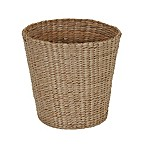 Household Essentials Flexible Wicker Wastebasket