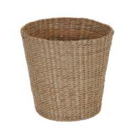 Household Essentials Flexible Wicker Wastebasket