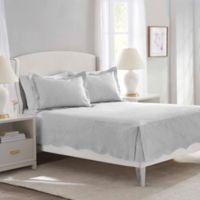 Nostalgia Home™ Bridget Twin Quilt in Dove Grey