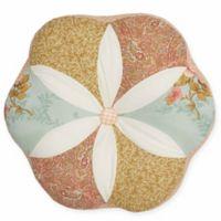 Nostalgia Home™ Medford Round Throw Pillow in Ivory/Tan