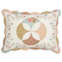 Nostalgia Home™ Medford Standard Pillow Sham in Ivory/Tan
