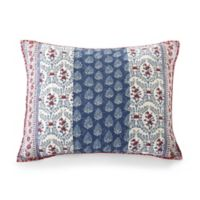 Jessica Simpson Galieri Standard Pillow Sham in Blue