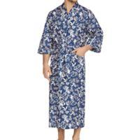 Majestic International Hawaiian Print Kimono Robe