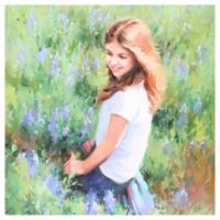 Impression 1 Subject 24-Inch x 36-Inch Hand Painted Canvas Wall Art