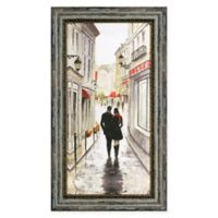 Walk to the Town I 25-Inch x 14-Inch Framed Wall Art