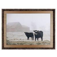 ArtMaison Canada Farm Study III 25-Inch x 34-Inch Framed Print Wall Art