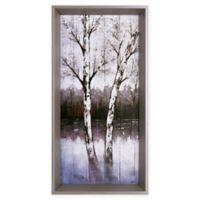 ArtMaison Canada Tree I 12-Inch x 23.5-Inch Framed Print Wall Art