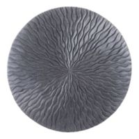 Wave 23-Inch Round Sandstone Wall Art
