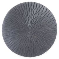 Wave 19-Inch Round Sandstone Wall Art