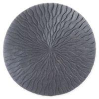 Wave 19-Inch Round Sandstone Wall Art