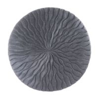 Wave 14-Inch Round Sandstone Wall Art