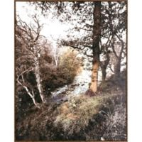 River Reflection 28-Inch x 22-Inch Canvas Wall Art